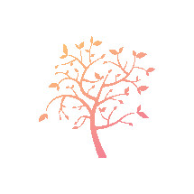 colorful gradient tree illustration.