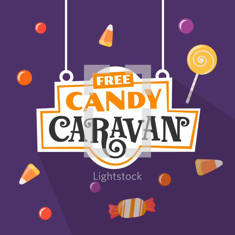 COVID safe candy caravan trunk or treat for Halloween alternative event
