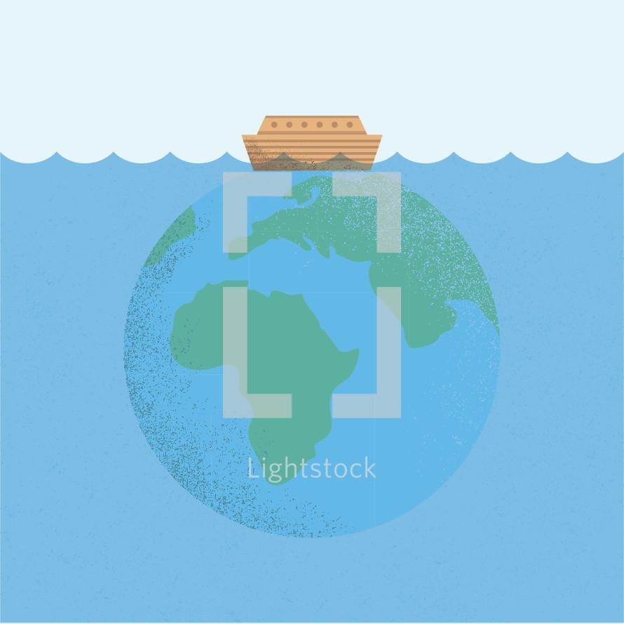 Noah's Ark illustration.