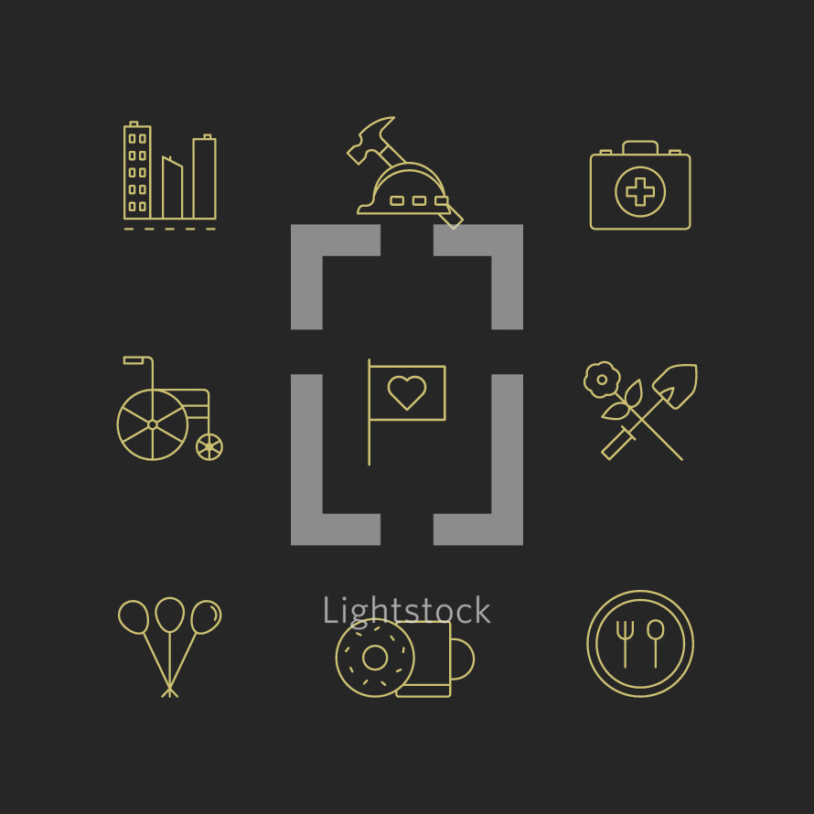 outreach icons