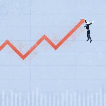 Conceptual Economy Illustration