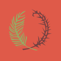 thorns and palm icon