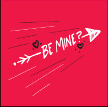 Be Mine? with arrow