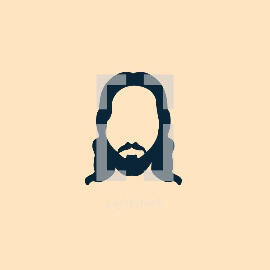 minimal Jesus face