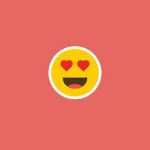 in love emoji