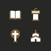 preaching icons.