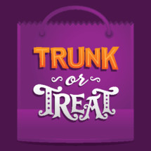 Trunk or treat Halloween evangelism in October