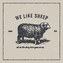 we like sheep, all we like sheep have gone astray, Isaiah 53:6