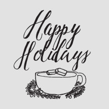 Happy Holidays and hot cocoa