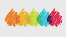 graffiti color splotches