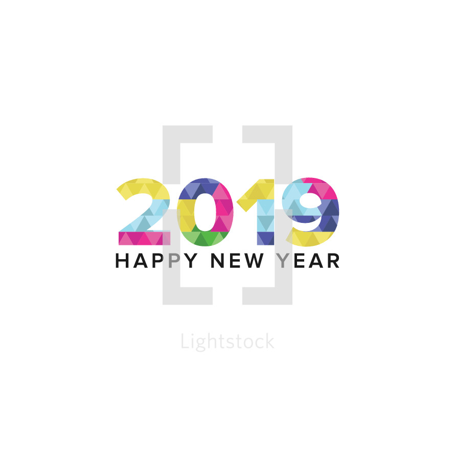 icon for 2019 Happy New Year