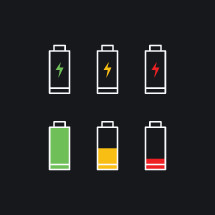 charged battery