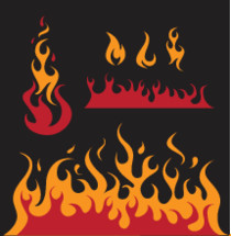 fire and flames icons
