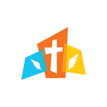 cross with wings logo