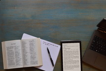 modern bible study with technology
