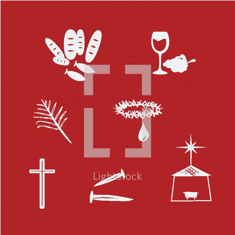 Jesus icons