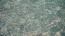 clear water surface