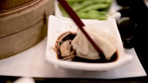 soy sauce and dumpling in Taiwan