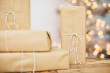 brown paper gifts