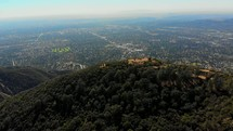 Altadena mountains and suburbs