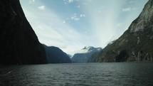 mountain lake water