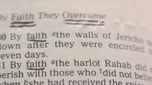 By Faith Scriptures - Scriptures from Hebrews About Faith
