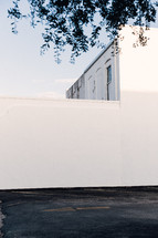 white exterior wall of a building