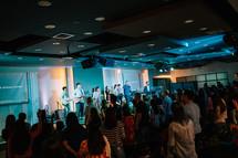 worship music during a worship service