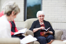 senior women's group Bible study