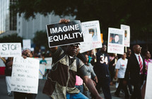 Black Lives Matters Protests in Dallas, Texas