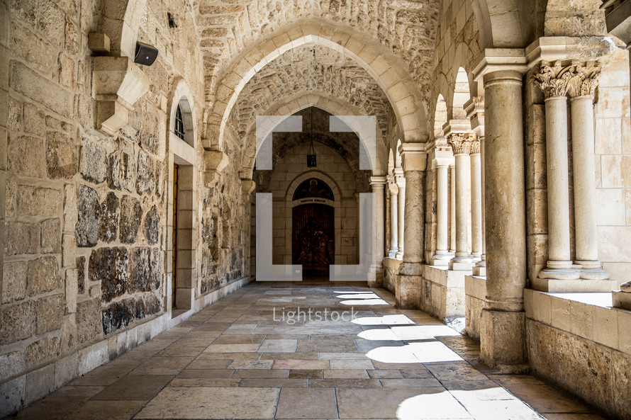 ancient architecture in the holy land