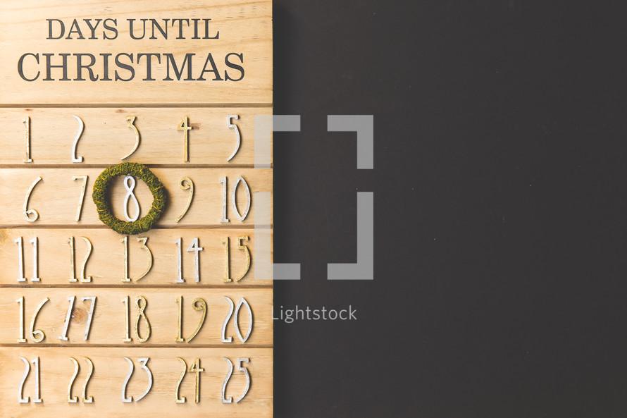 December 8th Christmas advent calendar