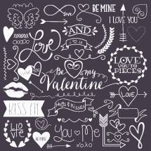 Kiss me, be mine, love, kiss me, Valentines day, heart, arrow, you, me, xoxo, be mine, hugs and kisses, banner, Be My Valentine, cupid's arrow, lips, lipstick, badge, icon, words, text, script, lettering, love you to pieces, angel wings, wings, be mine, I love you, love, heart, border