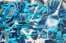 graffiti street wall art