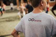 Go teams t-shirt