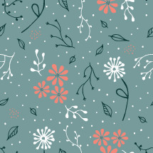 floral pattern vector.