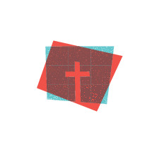 cross badge