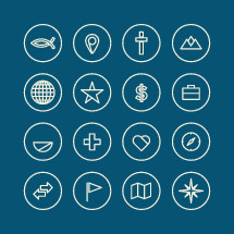 icons set for missions.