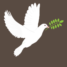 dove with an olive branch