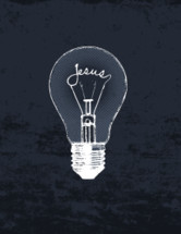 Jesus light bulb