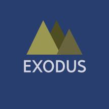 Exodus with mountains