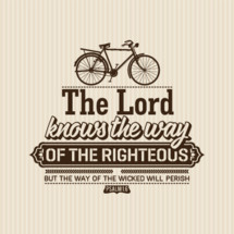 The Lord Knows the way of the righteous but the way of the wicked will perish Psalm 1:6