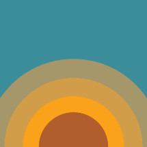 abstract sun illustration.