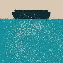 abstract Ark illustration.