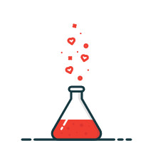 love potion illustration.