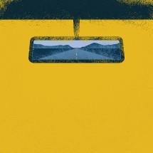 rearview mirror illustration.