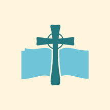 cross and open Bible icon