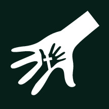cross hand icon