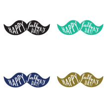 Happy Father's day mustaches