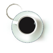 coffee mug and ring